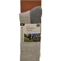 Makalu Kışlık Çorap / Pembe/Gri - Std