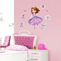 Artikel Prenses Sofia 35x50 cm Duvar Sticker