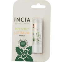 Incia Safe To Eat Lip Balm Mint 6g