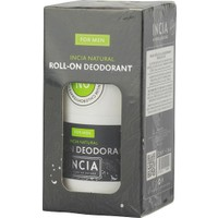 Incia Natural Roll-on Deodorant For Men 50ml