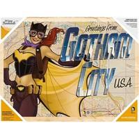 Sd Toys Dc Bombshells: Batgirl Glass Poster