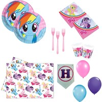 Party Var My Little Pony Doğumgünü Seti 16 Kişilik