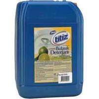 Titiz Sıvı Bulaşık Deterjan 30 Lt Yeşil Limon