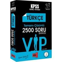 Yargı Yayınları 2018 Kpss Değişim Serisi Vıp Türkçe Tamamı Çözümlü 2500 Soru Bankası