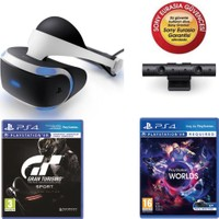 Sony PlayStation VR + Ps4 Camera + Ps4 Vr Worlds + Ps4 Gran Turismo Sport (Sony Eurasia)