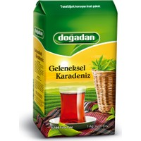 Doğadan Geleneksel Karadeniz Çay 1000 gr (Dökme)
