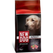 New Dog Kuzu Etli & Pirinçli Yetişkin Köpek Maması 15 kg