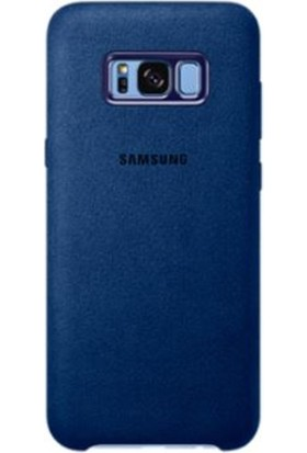 Samsung Galaxy S8 Plus Alcantara Kılıf Lacivert - EF-XG955ALEGWW