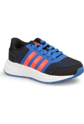 Adidas Cloudfoam Saturn Siyah Kırmızı Mavi Erkek Çocuk Sneaker Ayakkabı