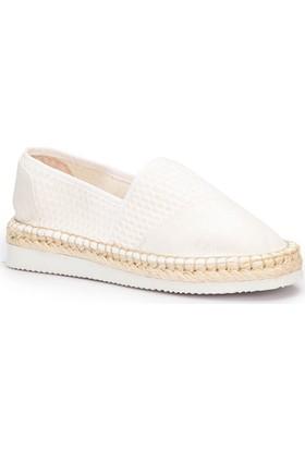 Lumberjack Love Beyaz Kadın Espadril Ayakkabı
