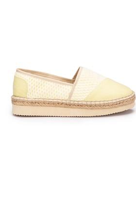 Lumberjack Love Sarı Kadın Espadril Ayakkabı