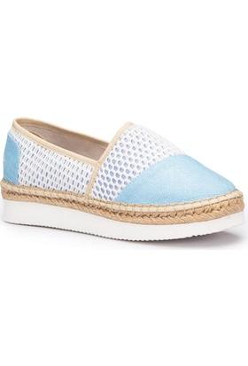 Lumberjack Love Mavi Kadın Espadril Ayakkabı