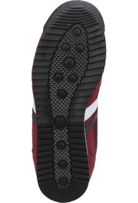 Kinetix Halley Bordo Petrol Erkek Sneaker Ayakkabı