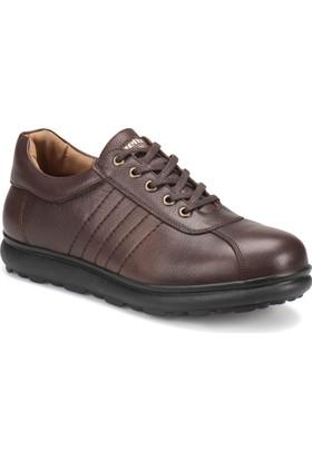 Kinetix Vito Kahverengi Erkek Deri Ayakkabı
