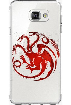 Remeto Samsung Galaxy A5 2016 Game Of Thrones Targaryen Logolu Şeffaf Silikon Kılıf