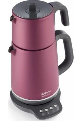 Homend 1720 Royaltea Konuşan Çelik Gövdeli Çay Makinesi