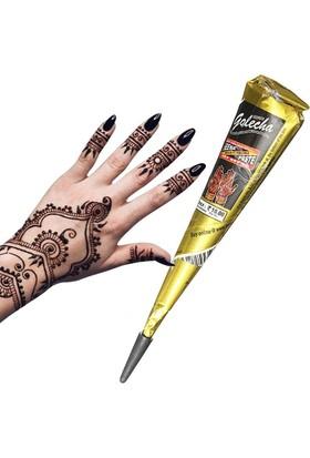Hint Kınası Geçici Dövme + Şablon HEDİYE