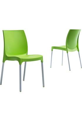 Novussi Contract Sunny Sandalye - Açık Yeşil