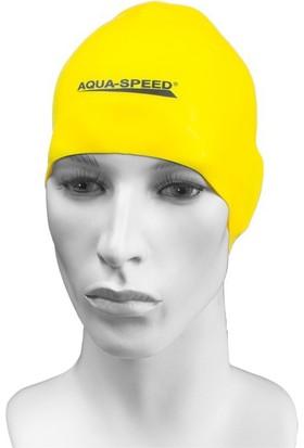 Aqua Speed Swim Cap Racer Bone