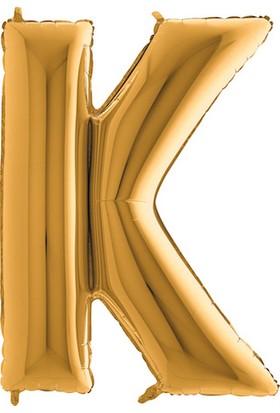 Kbkticaret K Harfi 100 Cm İthal Harf Balon
