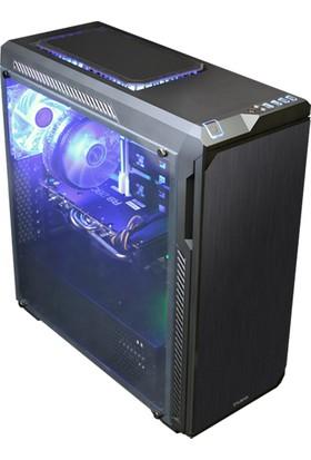 Zalman Z9Neo-Plus_Black ATX Mid Tower Siyah Kasa 2xUSB 2.0 2xUSB 3.0 1xMikrofon 1xKulaklık PCI/Agp 420Mm