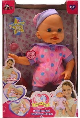 Vardem1530-S Kut.16 Gıdıklanan Interaktif Bebek