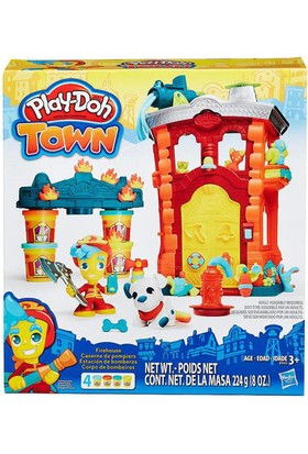 Hasbro B3415 Pd Town İtfaiye Merkezi /Play-Doh