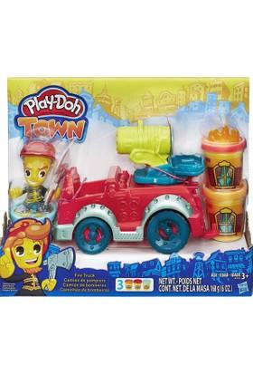 Hasbro B3416 Pd Town İtfaiye Arabası /Play-Doh