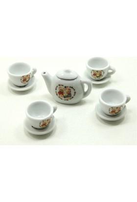 Can İthalat Porselen Çay Seti