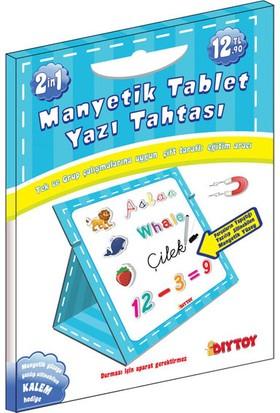 Diytoy 0585 Manyetik Tablet Yazı Tahtası Mavi