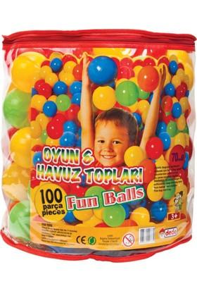 Fen Toys 01733 Oyun Havuz Topu 100 Lü Fileli 7Cm