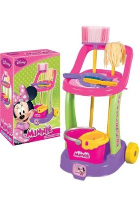 Fen Toys 01971 Mınnıe Mouse Temizlik Arabası )