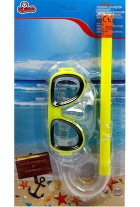Vardem23G/0932N Kart.Oval Gözlüklü Kc.Şnorkel Set