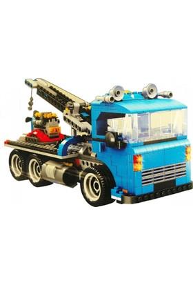 Bircan Lego Ausini 848 Parça 3İn1 Araba Seti