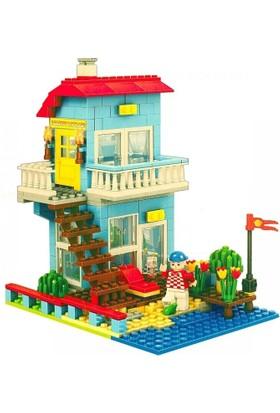Bircan Lego Ausini 469 Parça 3İn1 Ev Seti