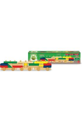 Karsan Oyuncak 002Kr Woodoy Yapboz Tren