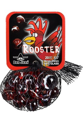 Sunman Don Juan Filede 20+1 Adet Rooster Cam Misket