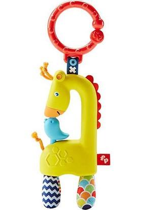 Mattel Dyf92 Fp Renkli Zürafa Çıngırak