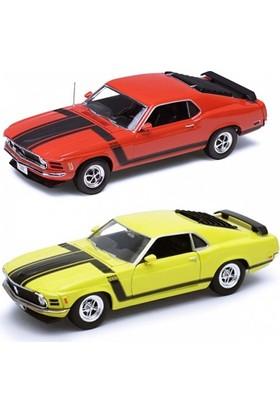 Karsan 1:24 1970 Ford Mustang Boss 302 Oyuncak