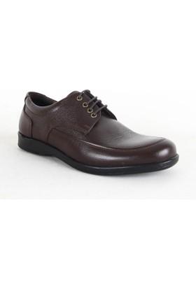 Lost 1001 Erkek Deri Bağcıklı Ayakkabı Kahverengi
