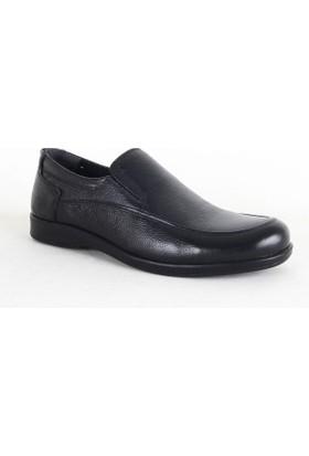 Lost 1002 Erkek Deri Ayakkabı Siyah