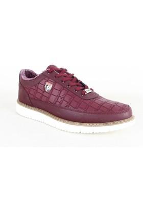 Plarium Erkek Günlük Ayakkabı Bordo