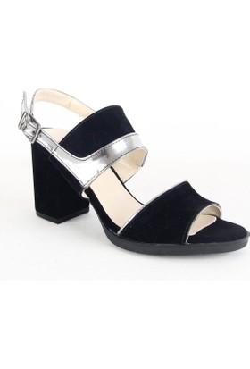 Armoni 106 Bayan Topuklu Ayakkabı Siyah