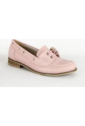 Armoni 346 Bayan Babet Ayakkabı Pudra