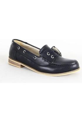 Armoni 346 Bayan Babet Ayakkabı Siyah