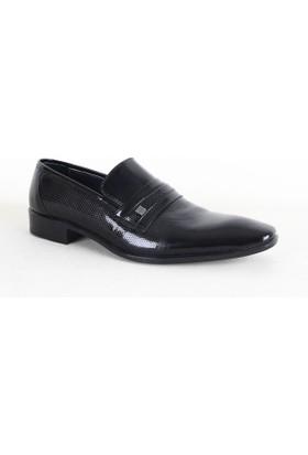 Daypa 214 Deri Erkek Klasik Ayakkabı Siyah