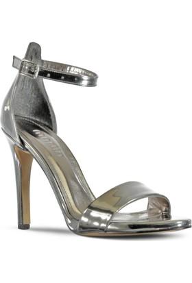 Marjin Aserna Topuklu Ayakkabı Gümüş
