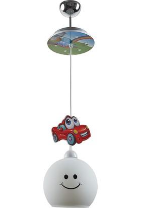 Trendhome Otto Tekli Araba Çocuk Odası Avizesi
