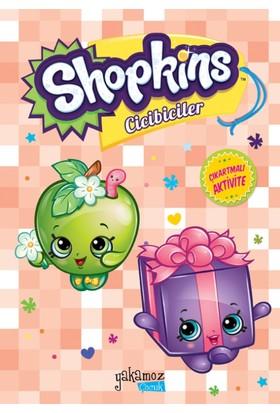 Çıkartmalı Shopkins Aktivite Kitapları