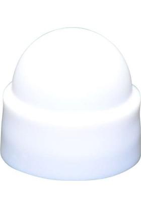 Starklips Somun Kapağı M Beyaz (K. Pullu) 5'Li Paket